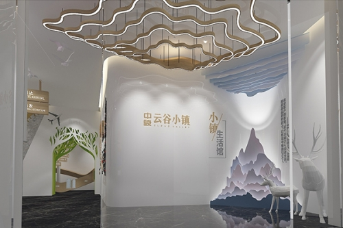 重庆企业展厅规划
