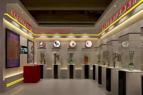 重庆非物质文化展厅设计制作